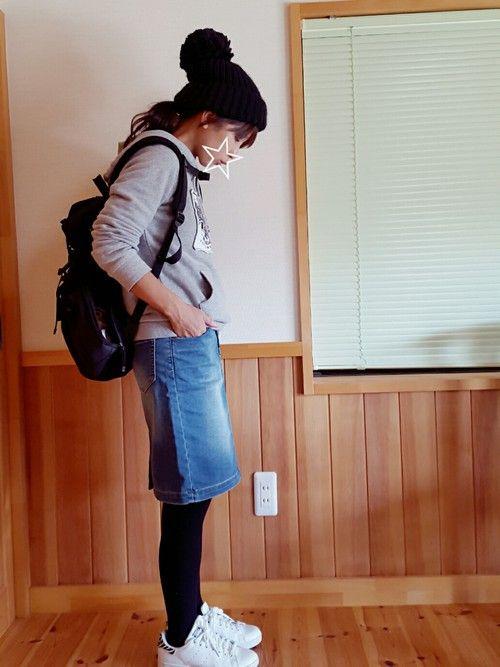 ぷっちょ☆ BAYFLOWのデニムスカートを使ったコーディネート - WEAR
