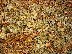 Try this recipe for Furikake Chex Mix on Foodgeeks.com