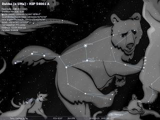 A história da Ursa Maior e Ursa Menor