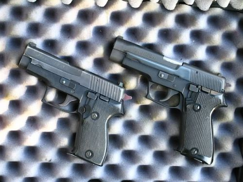 Browning BDA, an early SIG-Sauer P220 imported to the USA. Find our speedloader now!  http://www.amazon.com/shops/raeind