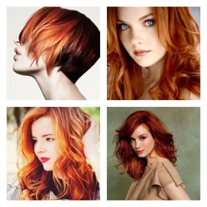 Red & copper hair…
