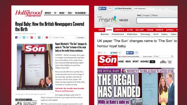 The Sun. The Son. Media. Potential: Gold (Got nothing!)