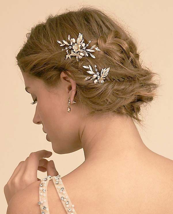 Stunning Decorative Bobby Pins Pretty Hair Accessories You Ll Want To Buy Now Ohmeohmy Blog Wedding Hair Inspiration Hair Accessories Best Wedding Hairstyles
