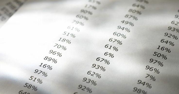Cómo hacer un rango de porcentaje en una tarea. Un resultado de un rango de percentil se localiza entre un grupo de calificaciones. Específicamente, el rango de percentil es el porcentaje de grados que califican más bajo que ese resultado en el grupo. Si intentas determinar el rango de percentil para cada resultado de entre un grupo, calcula empleando la misma fórmula para cada marca ...