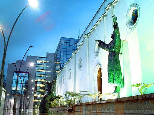 Iglesia de La Porciúncula Bogotá, Colombia.