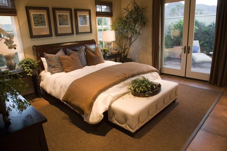 Beautiful master bedroom design. Check out 50 more professionally designed mater bedrooms at
