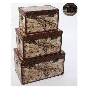 1000 images about baules y cajas on pinterest home - Baules decorativos ...