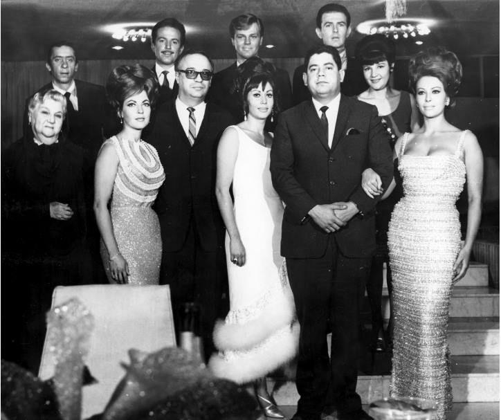 Sara García, Maricruz Olivier, Ana Bertha Lepe, Yuyú y Fanny Cano