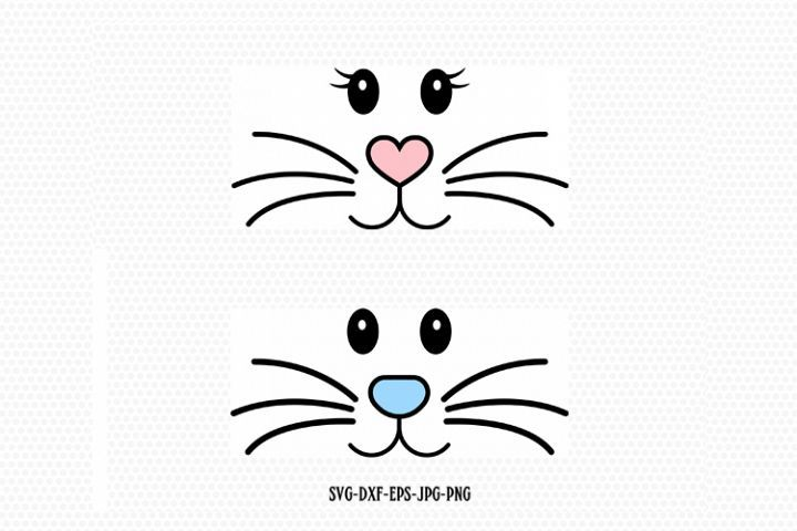 Bunny Face Bunny Eastersvg 221128 Svgs Design Bundles Bunny Face Envelope Art Bunny