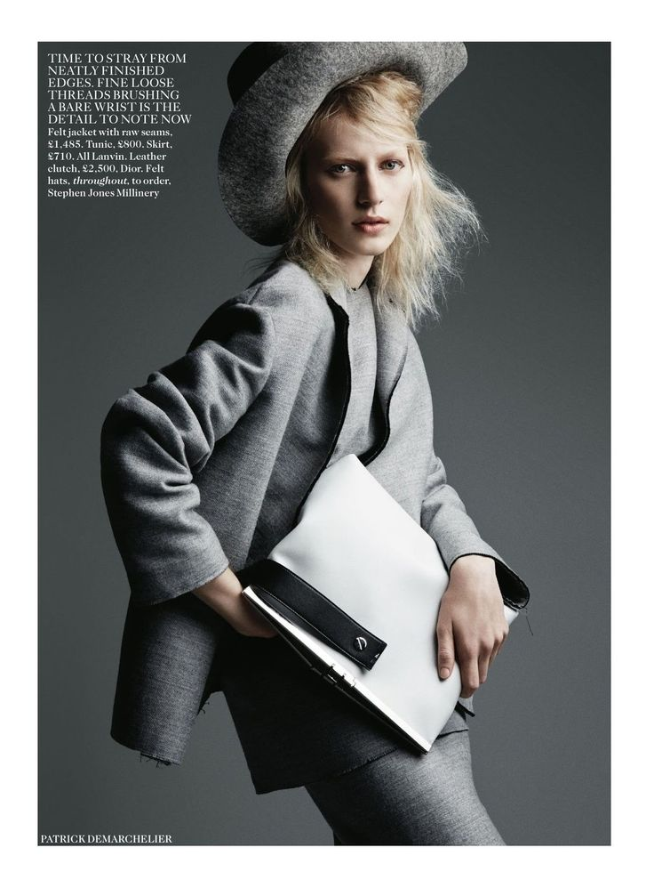 the new now: julia nobis by patrick demarchelier for uk vogue august 2014 | visual optimism; fashion editorials, shows, campaigns & more!