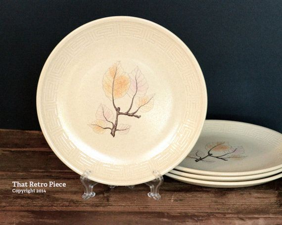 Johnson of Australia 'Beechleaf' small plates by ThatRetroPiece, $20.00