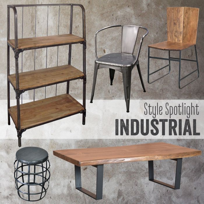 We stock plenty of industrial styled pieces - get your fix at Vast!