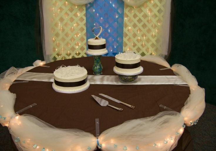 Cake Decoration Ideas Pinterest : Cake Table decorations Wedding 10/2012 Pinterest