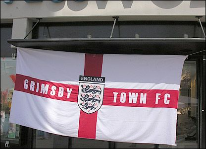 Grimsby Town British Flag