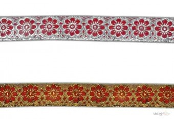 This Jacquard ribbon ( jacquard ribbon trim by the yard ) comes with Plain decoration widely used by Apparel & Clothing Industry