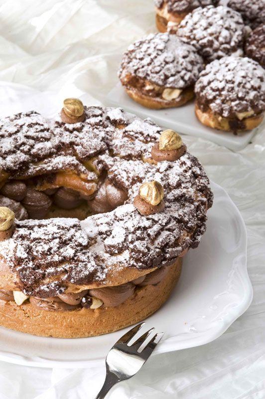 Paris Brest με Mousseline Σοκολάτας | ION Sweets