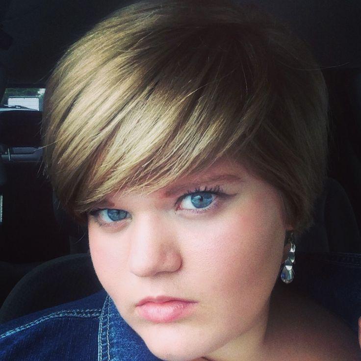 Marvelous 1000 Images About Make Up En Haar On Pinterest Cute Short Hair Short Hairstyles Gunalazisus