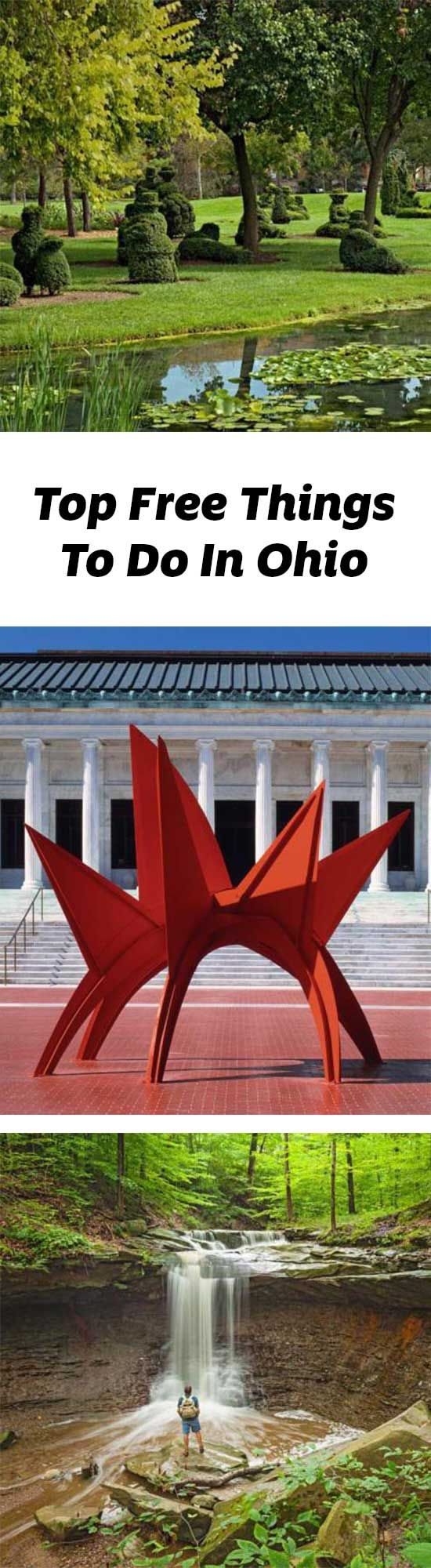 Art museums, state parks and the state capitol are just a few free things to do in Ohio