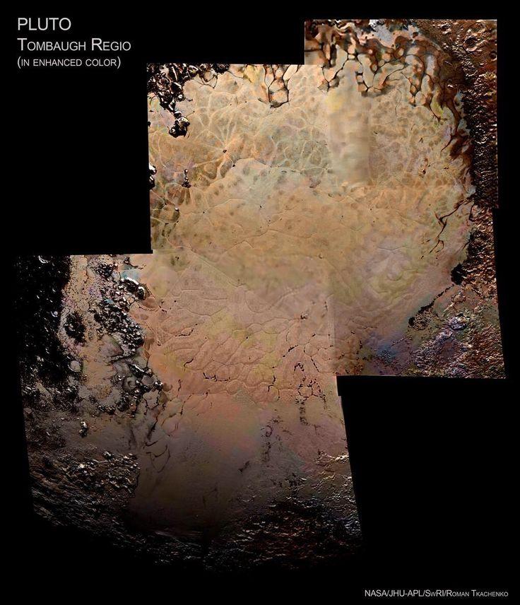 """""""He visto bloques de hielo flotar en el corazón de Plutón…"""""""