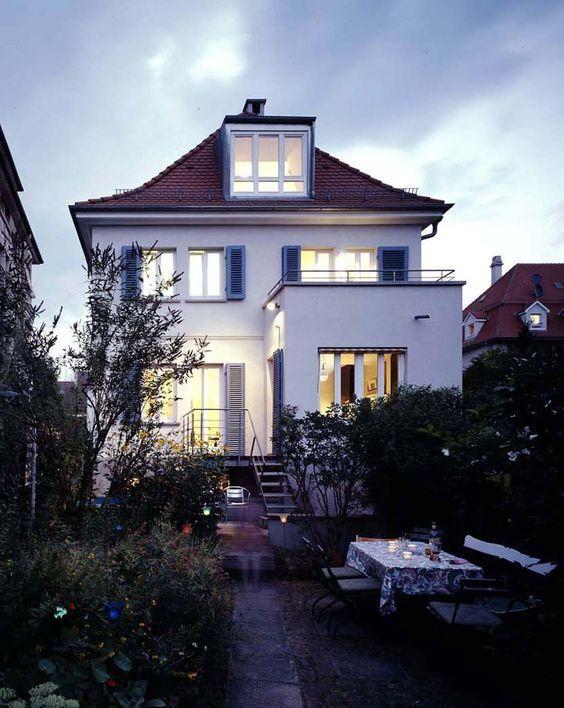 274 besten haus Bilder auf Pinterest Architekten, Traumhaus und - eklektischen stil einfamilienhaus renoviert