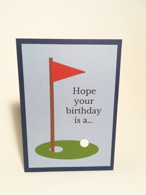 25 Golf birthday cards Pinterest – Birthday Cards Golf