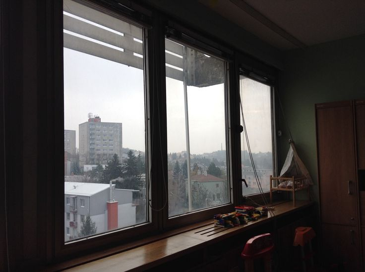 We will replace these metal window frames. They make the room cold and cost the hospital money in heat loss