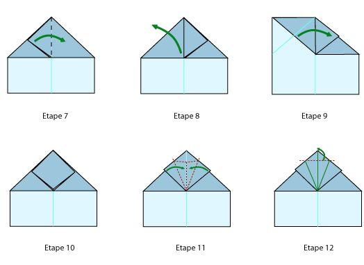 avion pliage f 16 plan 7 a 12 meilleur papa du monde avions en papier pinterest. Black Bedroom Furniture Sets. Home Design Ideas