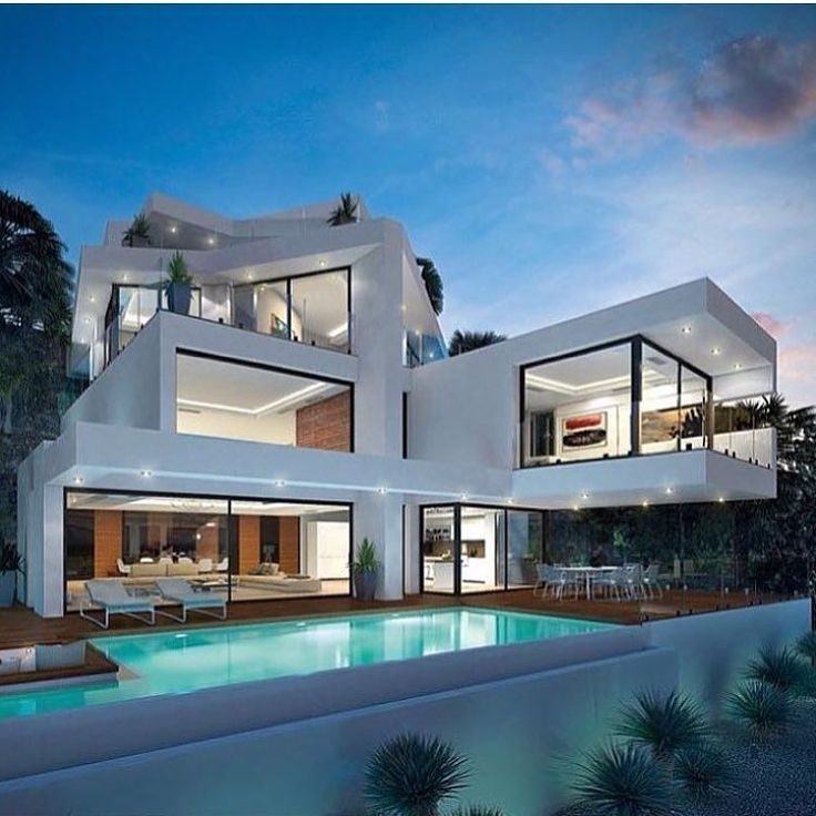 Modern House: Best 25+ Modern Mansion Ideas On Pinterest