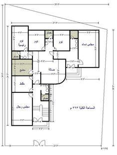 من يبحث عن مخططات دور ارضي كامل هنا مخططات رائعه منتديات شبكة المهندس House Map Home Map Design Basement House Plans