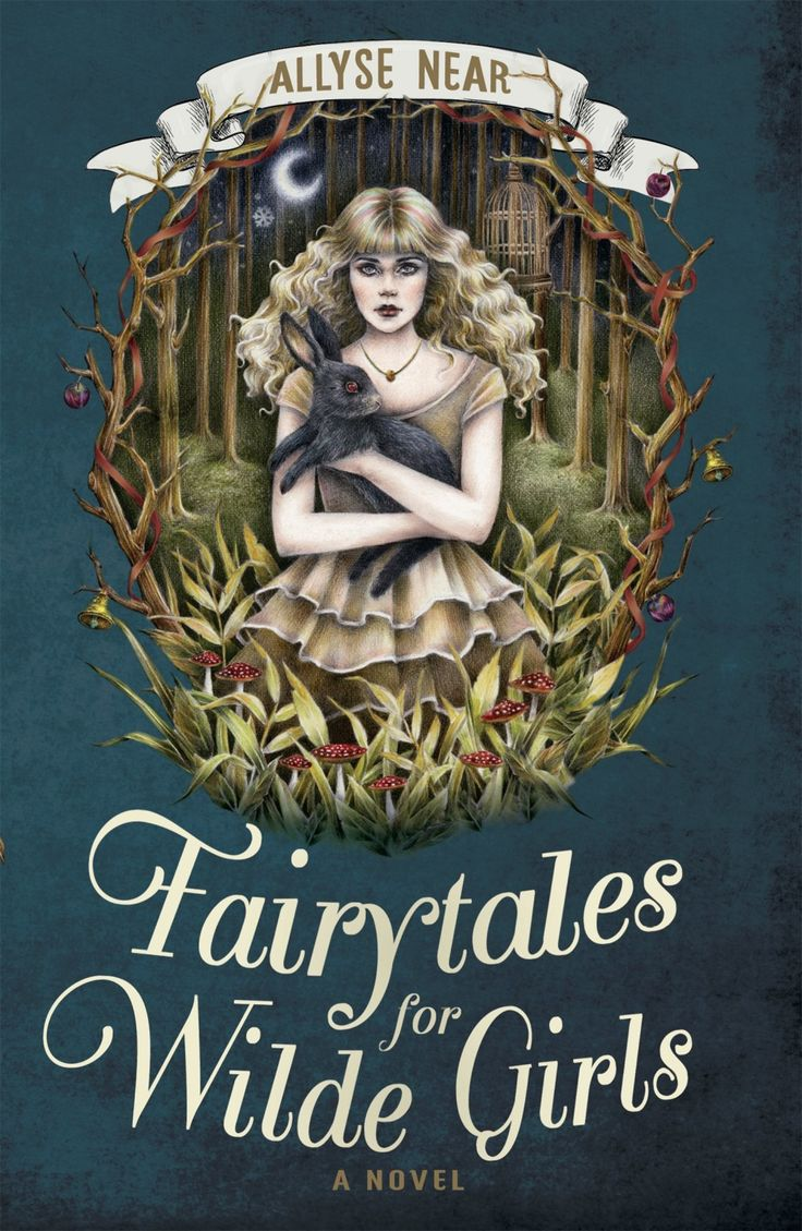 Having a LoveOzYA fangirl moment on the blog for Fairytales for Wilde Girls by Allyse Near.