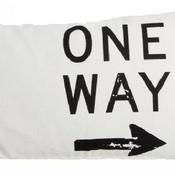 One Way kussen incl. donsen vulling