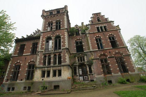 Övergivna platser - Belgiska slott på gränsen till nervsammanbrott