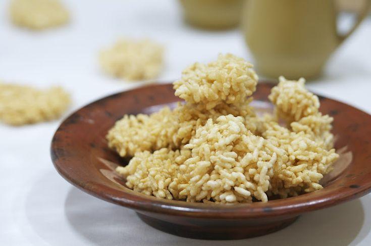 Indonesian Medan Food: Rengginang ( Sticky Rice Crackers)