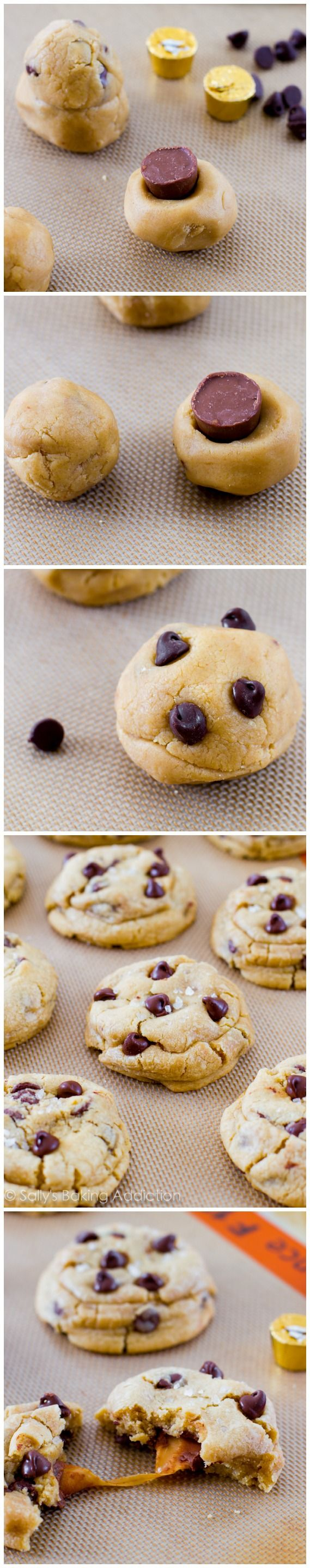 Salted Caramel Chocolate Chip Cookies | Recipe | Salted ...