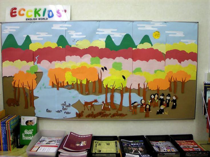 Classroom Ideas For November : Best bulletin boards thanksgiving images on pinterest