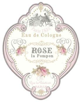 Rótulo(perfumes, aromatizadores....)