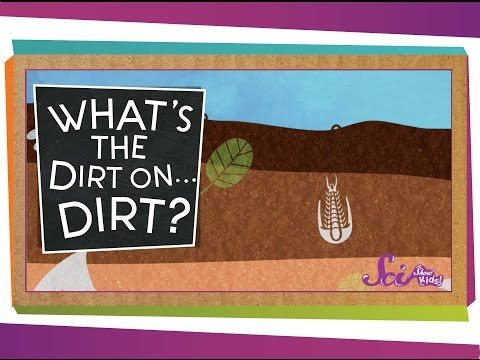 SciShow Kids: What's the Dirt on … Dirt? by scishow: A SciShow Kids viewer has asked us: What is dirt made of? Join Jessi to get the dirt on … dirt! SOURCES: https://www.sciencenews.org/blog/science-public/dirt-not-soil http://urbanext.illinois.edu/soil/concepts/concepts.pdf http://www.nrcs.usda.gov/wps/portal/nrcs/detail/national/home/?cid=nrcs143_021960 Support at: https://www.patreon.com/scishow