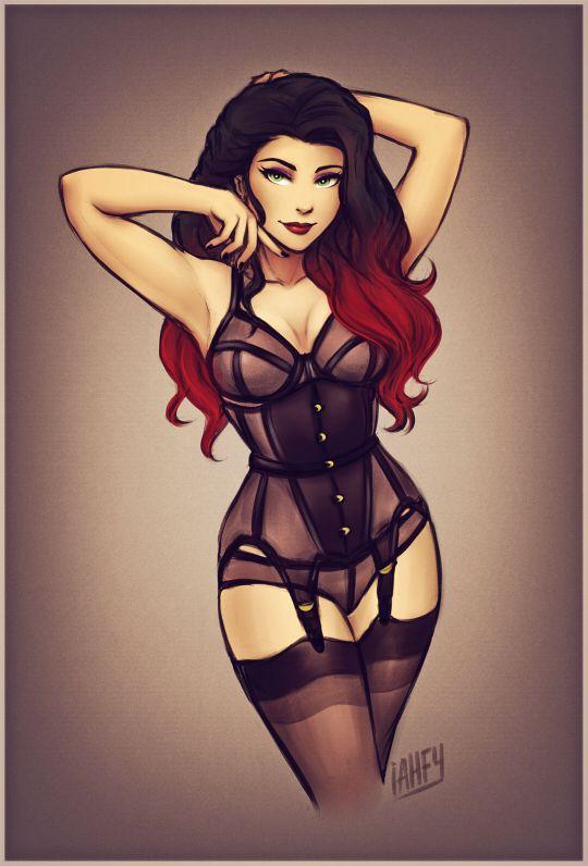Love Love she is curvy!  SEXY