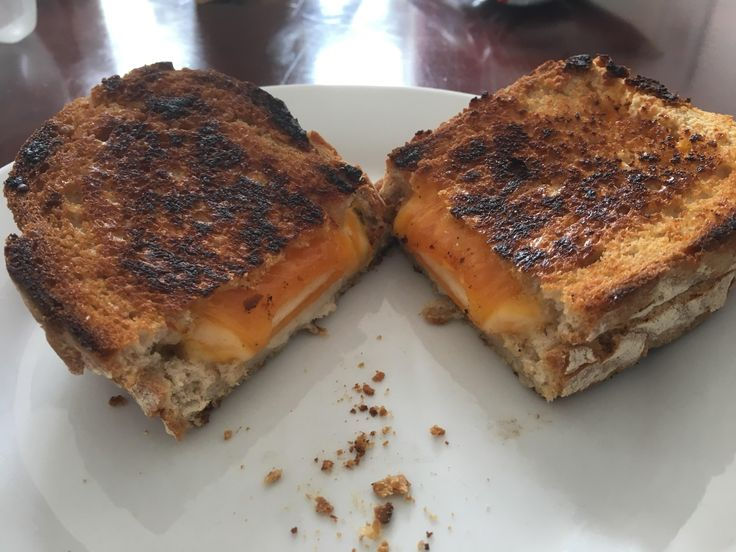 Mozzarella and Red Leicester on Sourdough #grilledcheese #food #yum #foodporn #cheese #sandwich #recipe #lunch #foodie