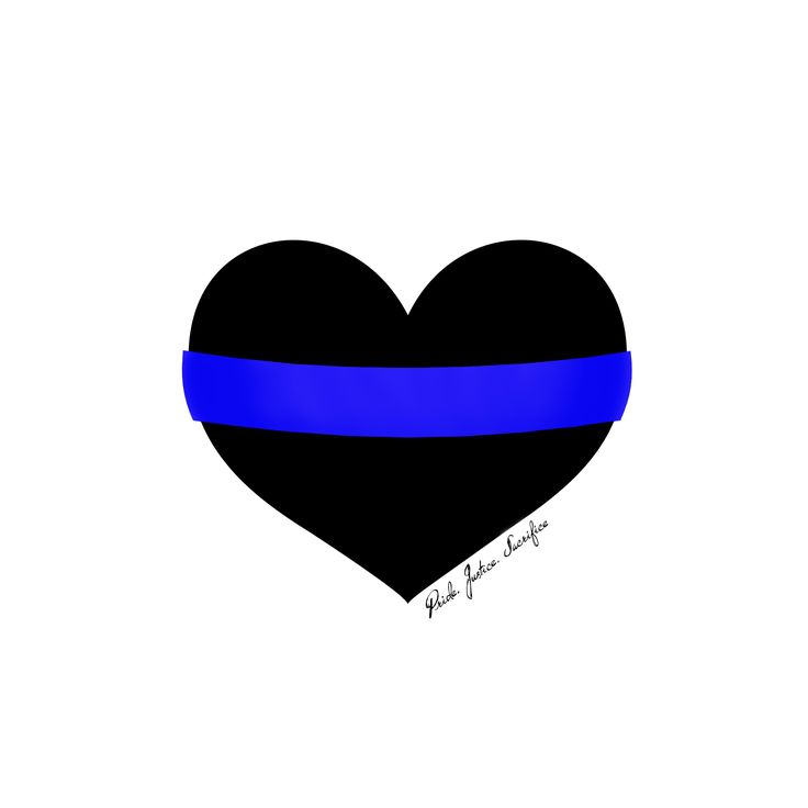 "For the friends and family of law enforcement... Those who ""Support the Line"""