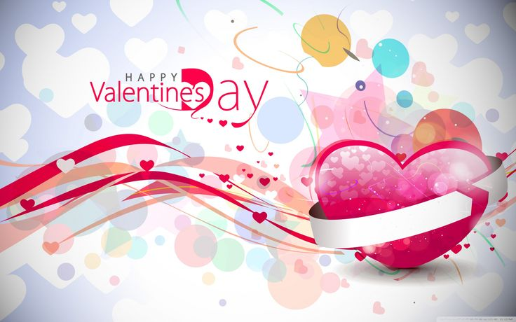 Valentines Day Background HD desktop wallpaper Widescreen High