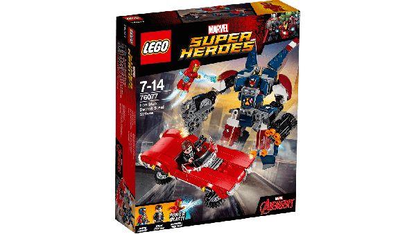 Iron Man Ataque de Acero - Lego - Lego - Sets de Construcción - Sets de Construcción JulioCepeda.com