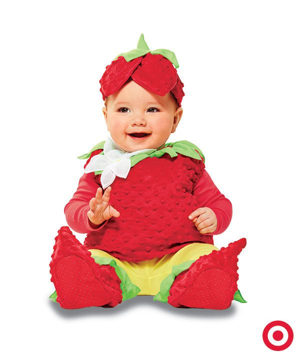 Dress your little trick-or-treater in the sweetest strawberry infant costume. It  sc 1 st  Pinterest & The 80 best Strawberry Shortcake Cosplay images on Pinterest ...