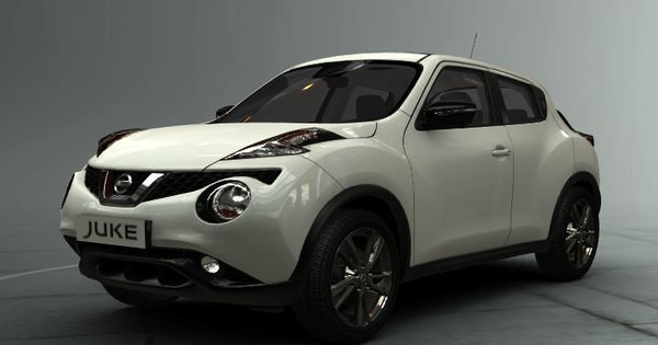 New Nissan Juke 2014 White And Black Creative Line Nissan Juke