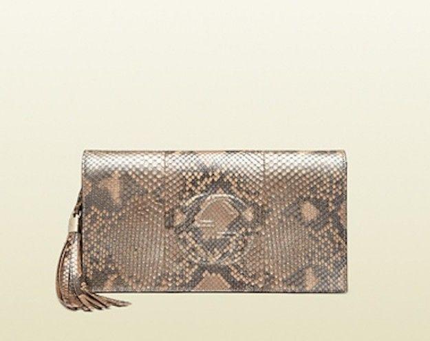 Clutch Bag pitone Gucci   #TuscanyAgriturismoGiratola