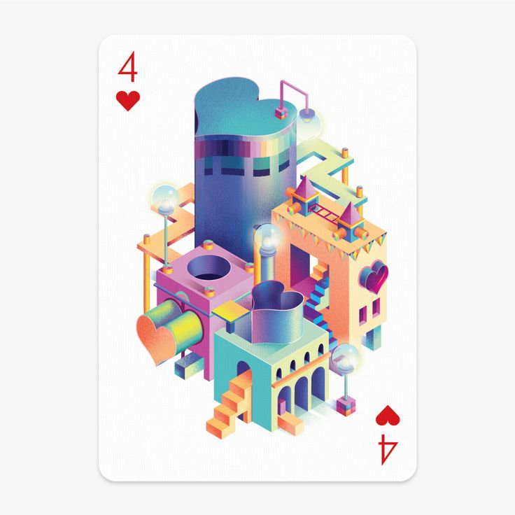 Playing Arts - Special edition - 4 of Hearts on Behance