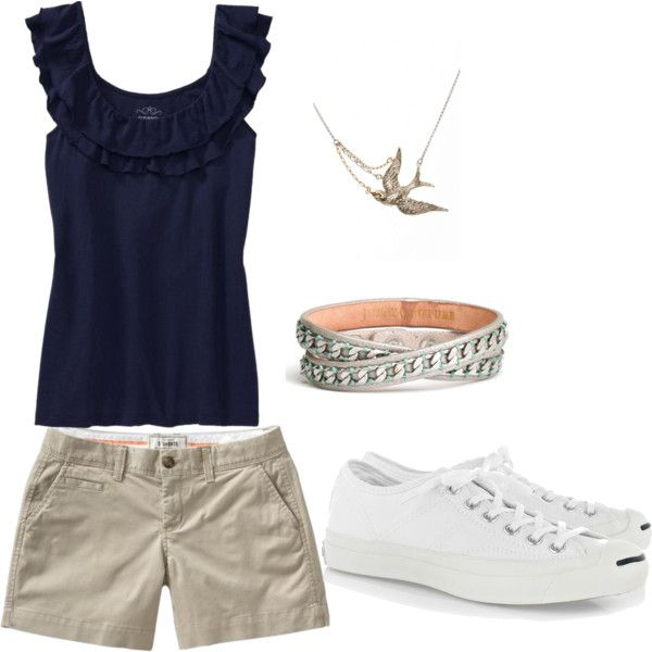 another Disney vacation outfit, created by anewkindofnormal on Polyvore