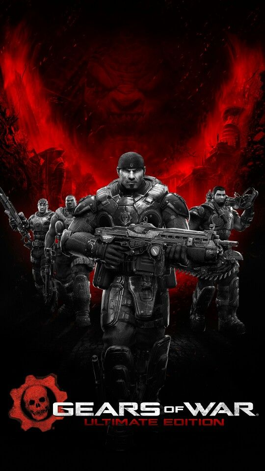Gears of War Ultimate Edition phone wallpaper