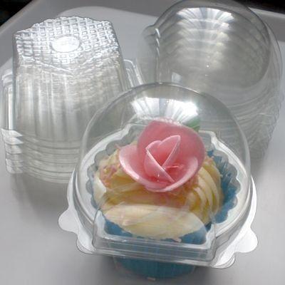 Individual cupcake packaging