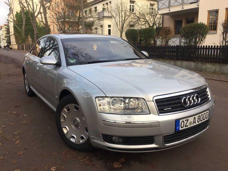 Audi A8 4.2 Quattro - TÜV 10.19 - Alcantara - Volles Scheckheft - Doppelverglast